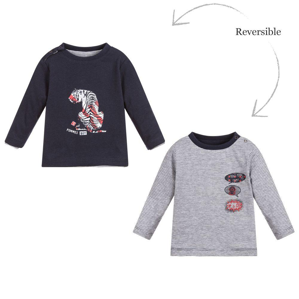 Boys Reversible Cotton Top-3 Pommes-joannas_cuties