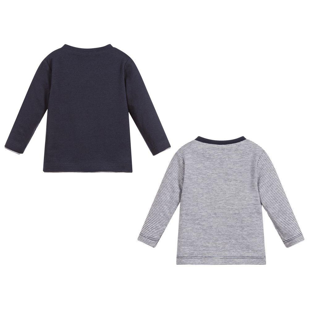 Boys Reversible Cotton Top - 3 Pommes - joannas-cuties