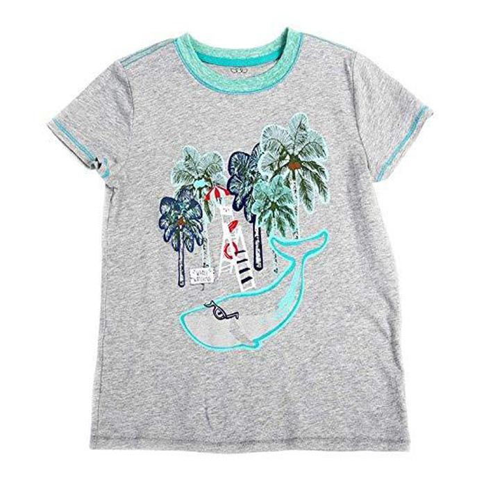 0c4fee07e Boy's Roman Graphic Tee - Grey, EGG by Susan Lazar - Joanna's Cuties