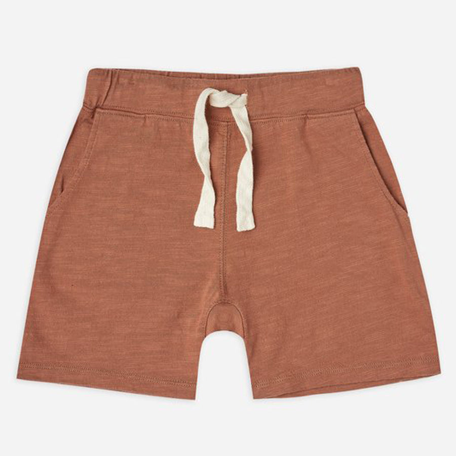 Boys Slub Short - Amber