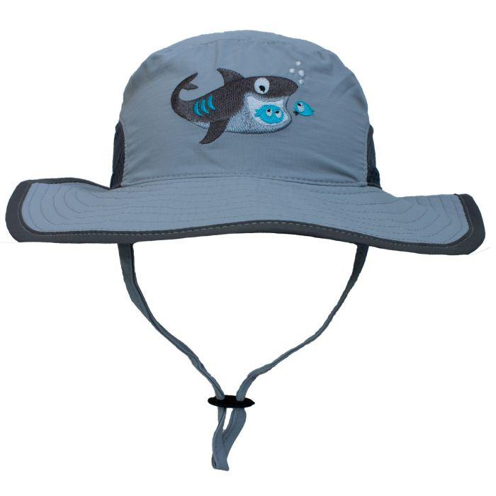 Boys UV 50+ Bucket Hat - Grey - Calikids - joannas-cuties