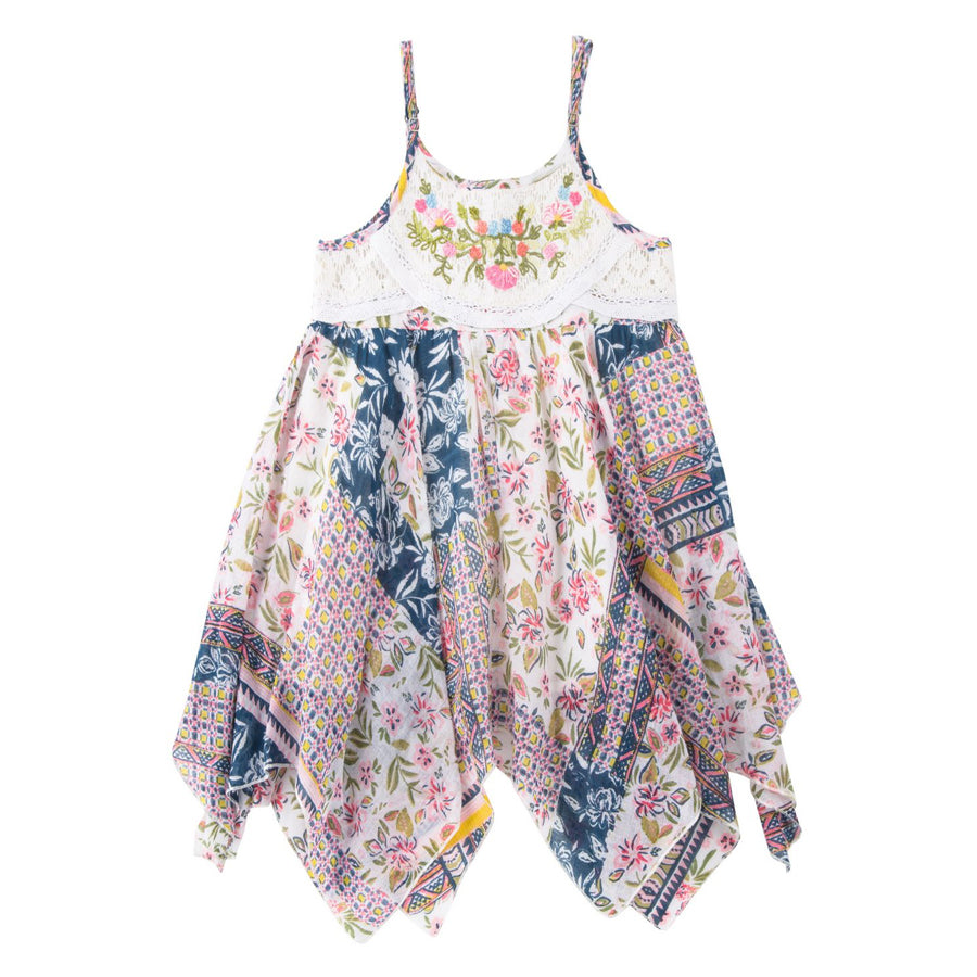 Breezes Handkerchief Dress - Mimi & Maggie - joannas-cuties