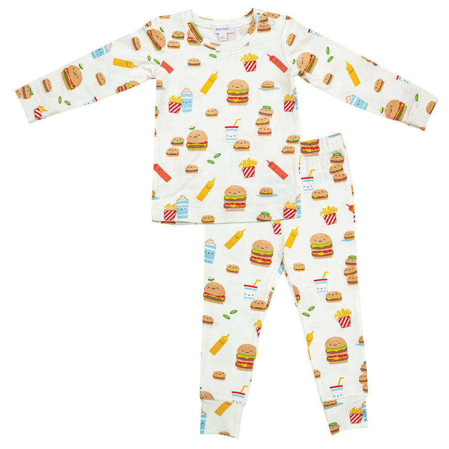 Burger Joint Lounge Wear Set-Angel Dear-Joanna's Cuties