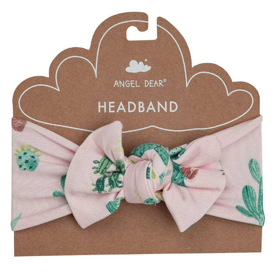 Cactus Headband Pink-Angel Dear-Joanna's Cuties