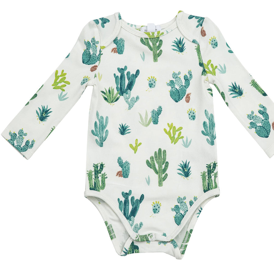 Cactus Lap Shoulder Bodysuit - Ivory-Angel Dear-Joanna's Cuties
