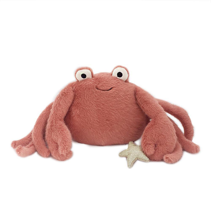 'Caldwell' Crab Plush Toy-Mon Ami-Joanna's Cuties