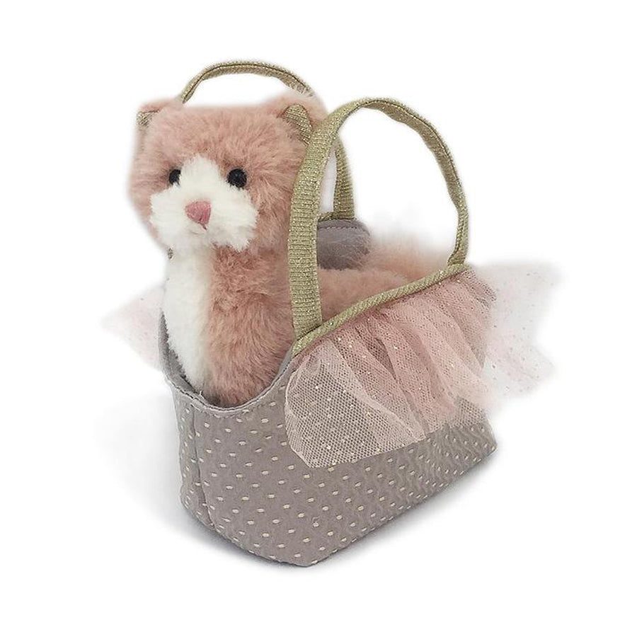 'Callie' Kitty Plush Doll & Toy Purse-Mon Ami-Joanna's Cuties
