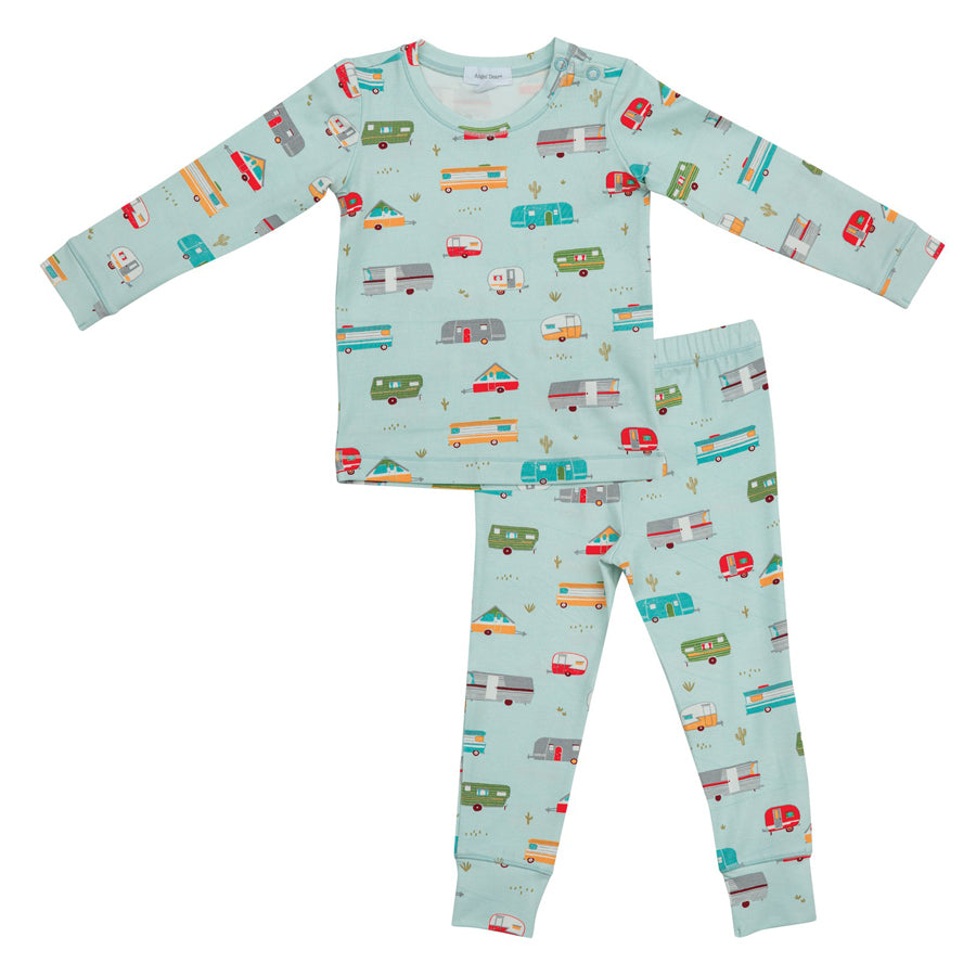 Campers Lounge Wear Set - Green
