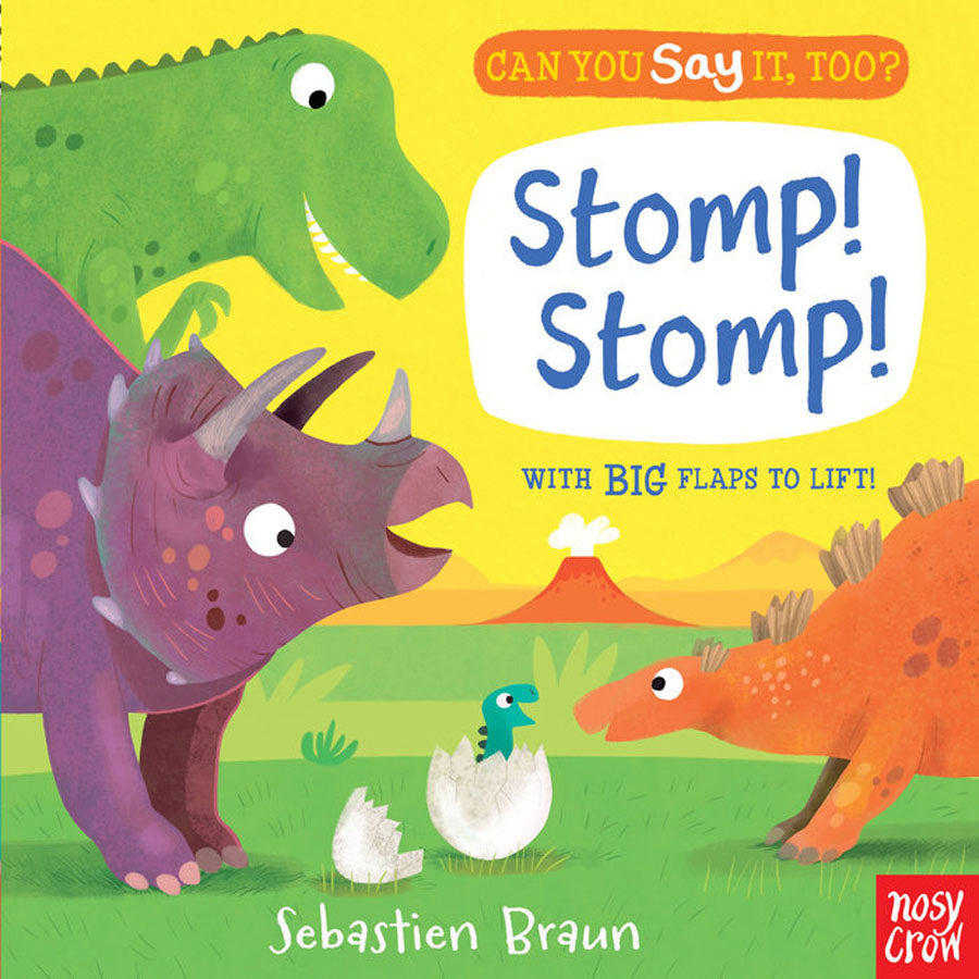 Can You Say It, Too? Stomp! Stomp!-Penquin Random House-Joanna's Cuties