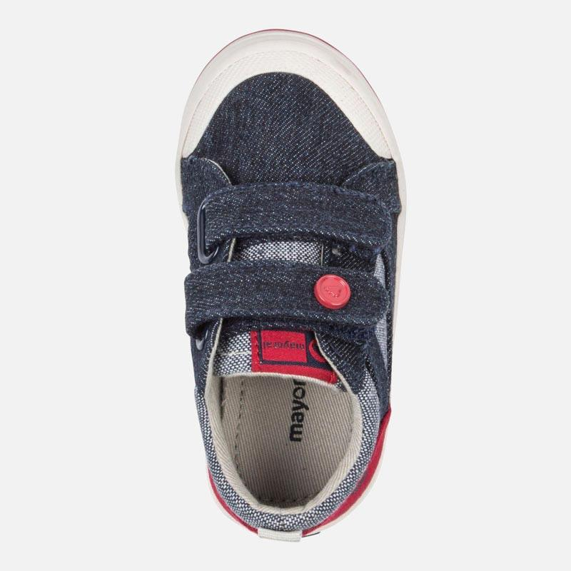 Canvas trainers for baby boy - Mayoral - joannas-cuties