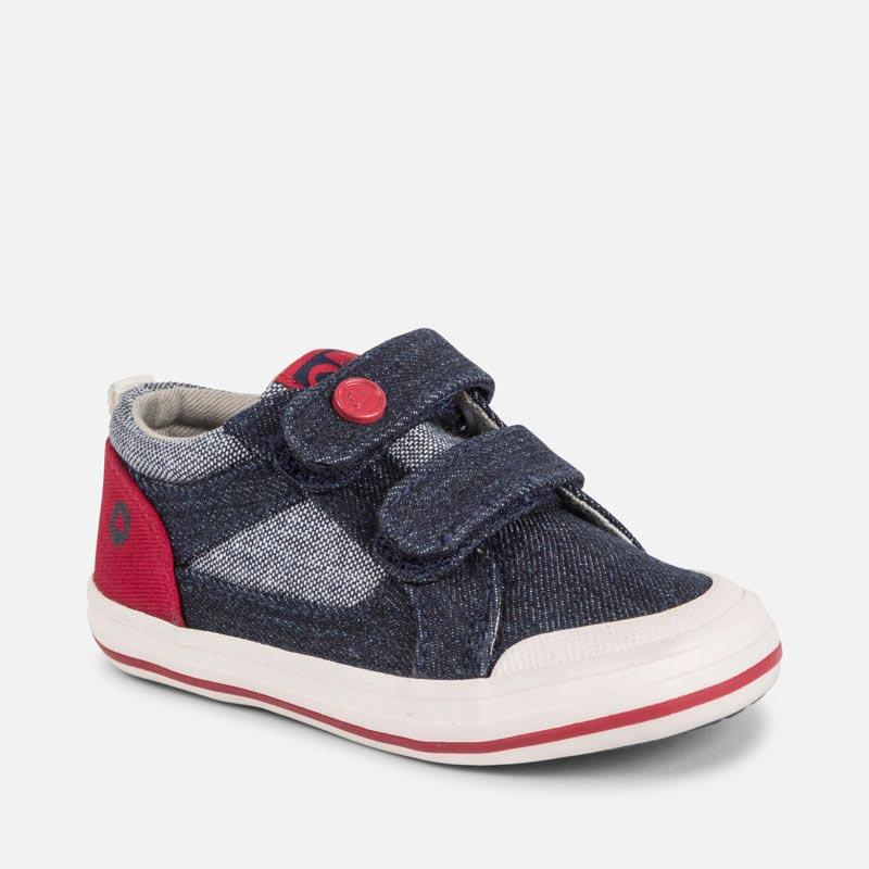 Canvas trainers for baby boy, Mayoral - Joanna's Cuties