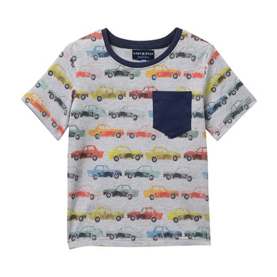 Car Graphic Tee - Andy & Evan - joannas-cuties