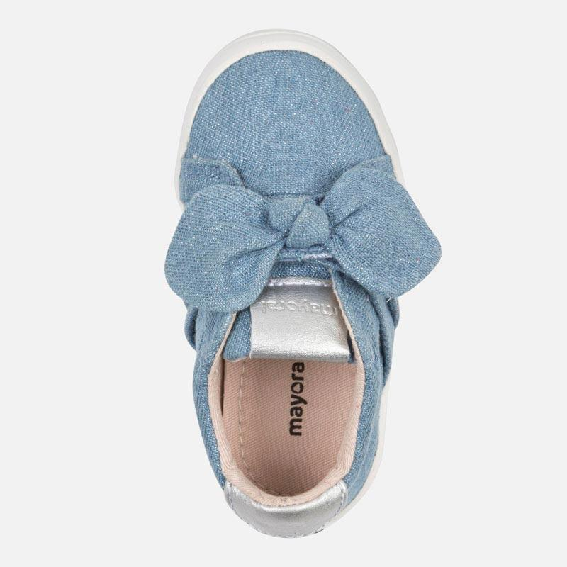 Casual bow trainers for baby girl - Mayoral - joannas-cuties