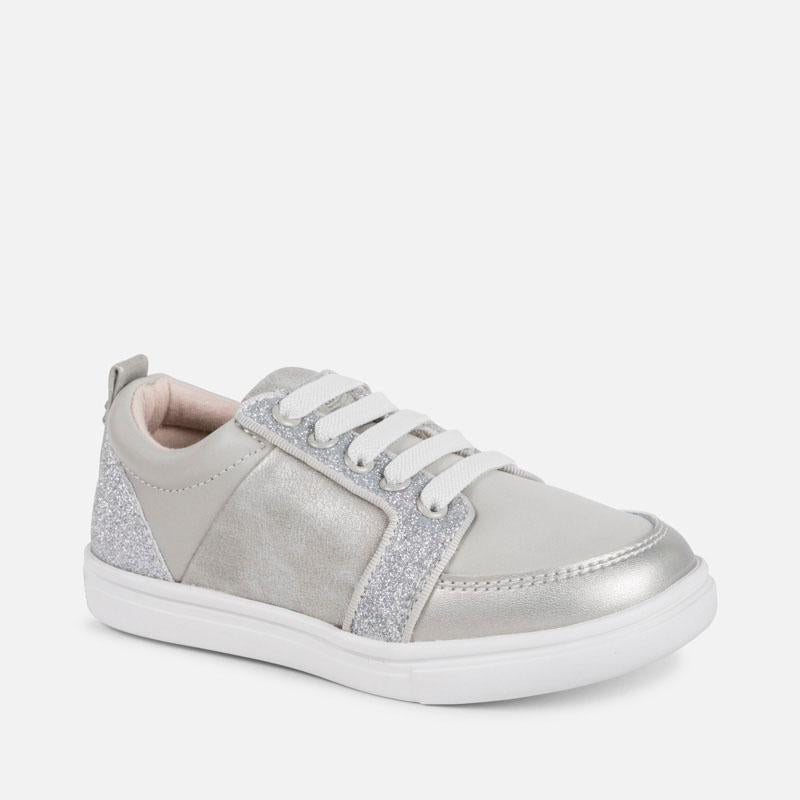 Casual Laminated Trainers, Mayoral - Joanna's Cuties