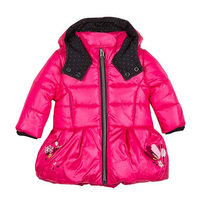 Catimini Baby Girls Parka Pour Coat, Catimini - Joanna's Cuties