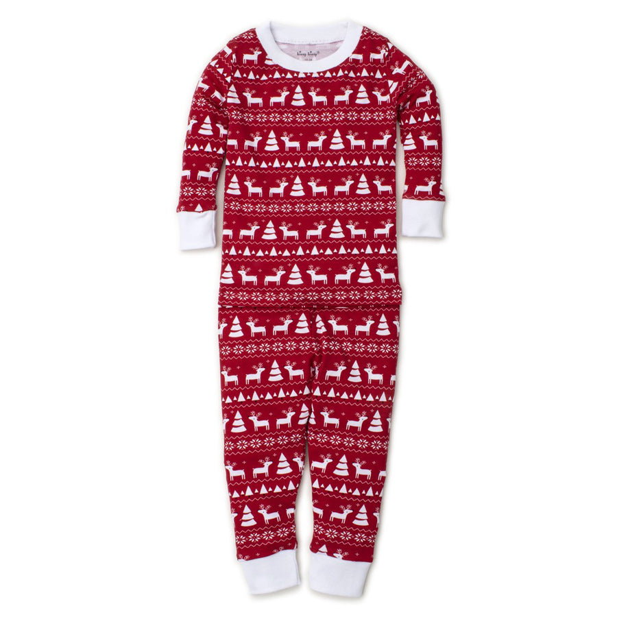 Christmas Deer Pajama Set-Kissy Kissy-Joanna's Cuties