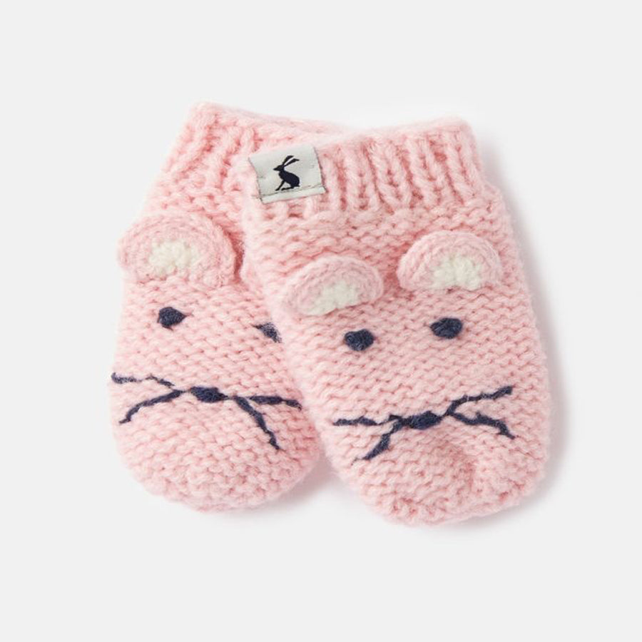 Chummy Character Mittens - Mouse - Joules - joannas-cuties