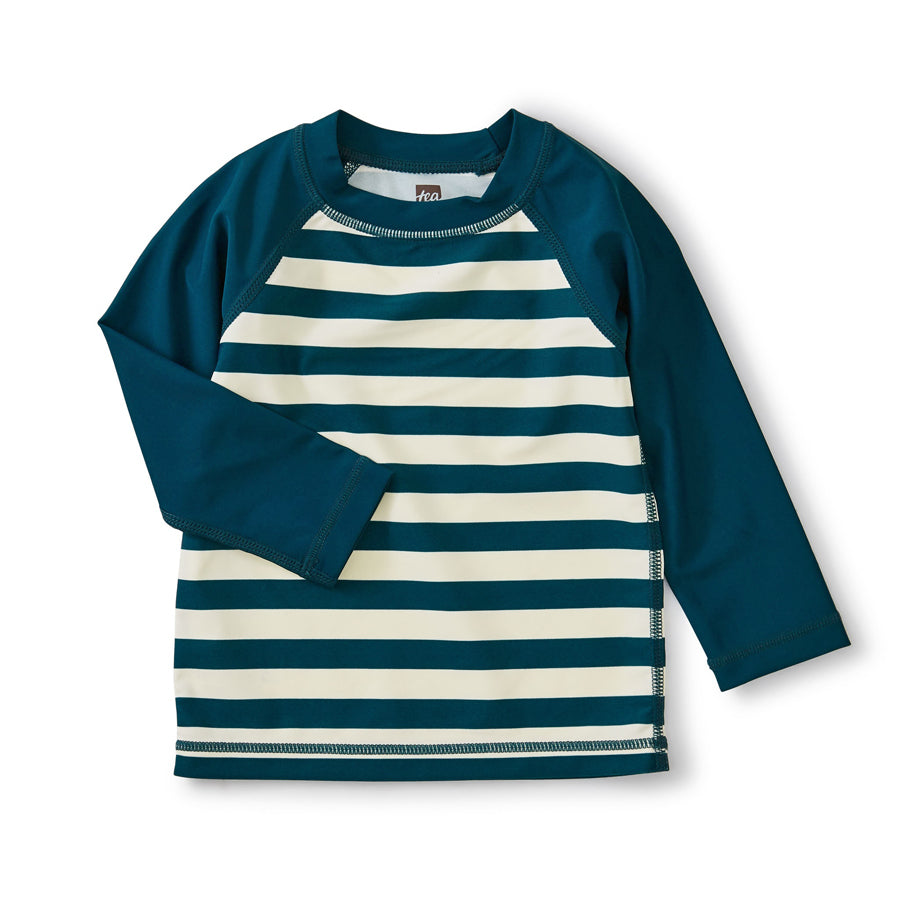 Colorblock Long Sleeve Rash Guard-Tea-Joanna's Cuties