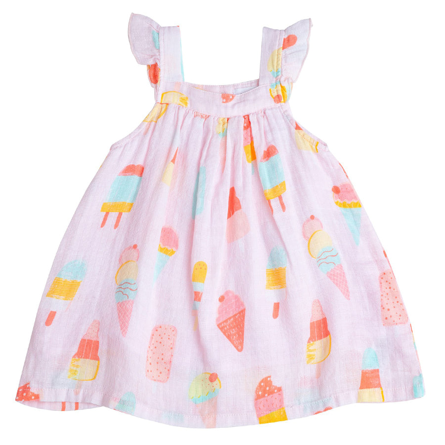 Cool Sweets Muslin Sundress & Bloomers-Angel Dear-Joanna's Cuties