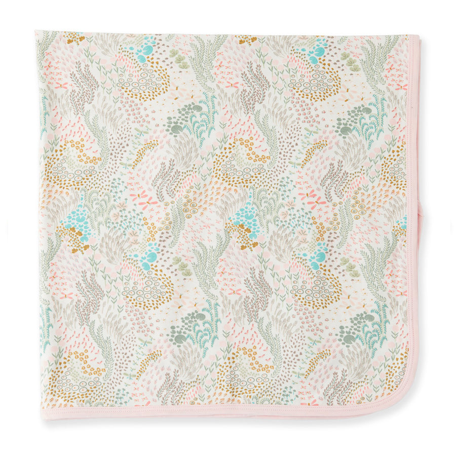 Coral Cay Modal Swaddle Blanket