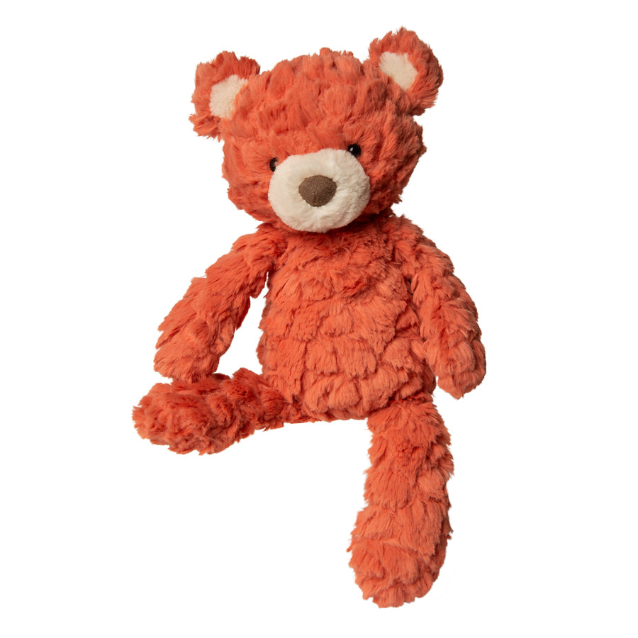 Coral Putty Bear – 11″-Mary Meyer-Joanna's Cuties