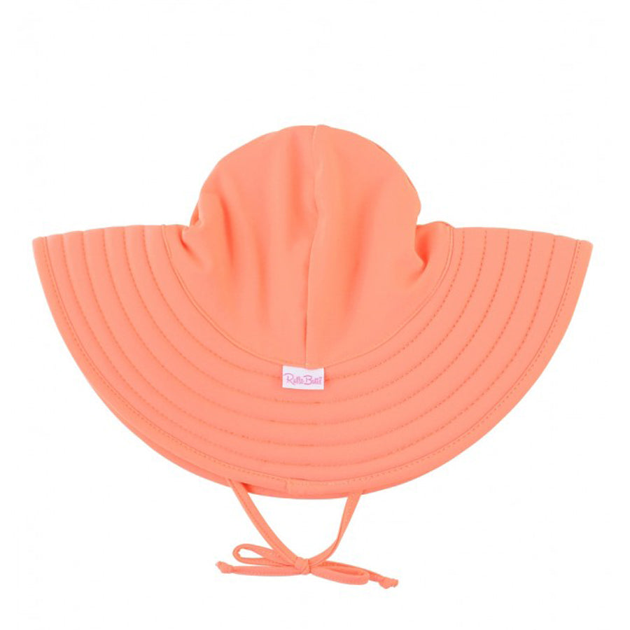 Coral Swim Hat-Ruffle Butts-Joanna's Cuties