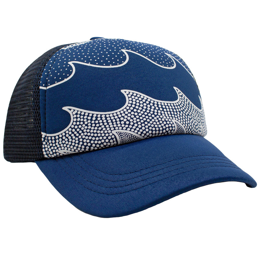 Cosmic Waves Hat