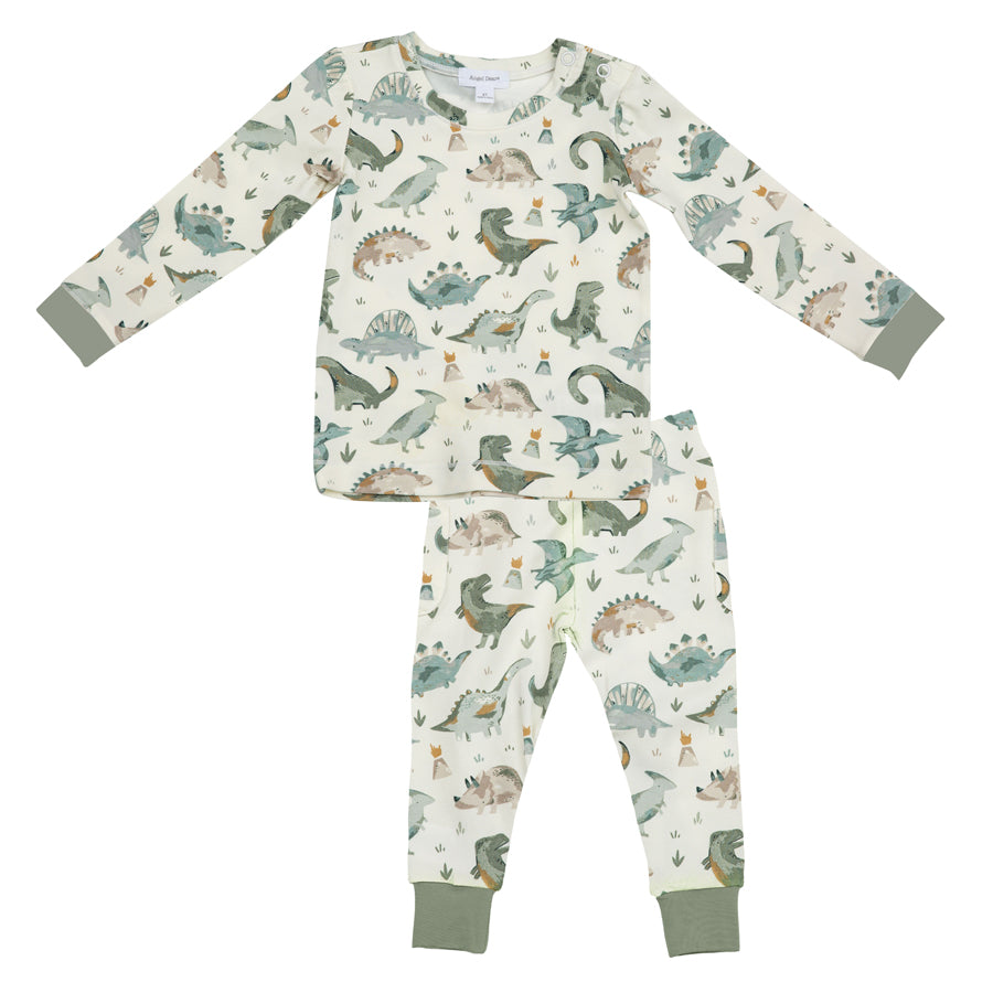Crayon Dinosaur Lounge Wear Set-Angel Dear-Joanna's Cuties