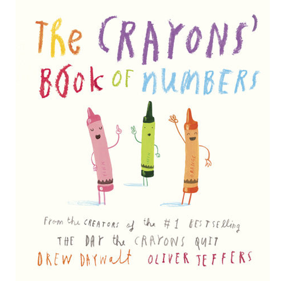 The Crayons' Book of Numbers-Penquin Random House-Joanna's Cuties