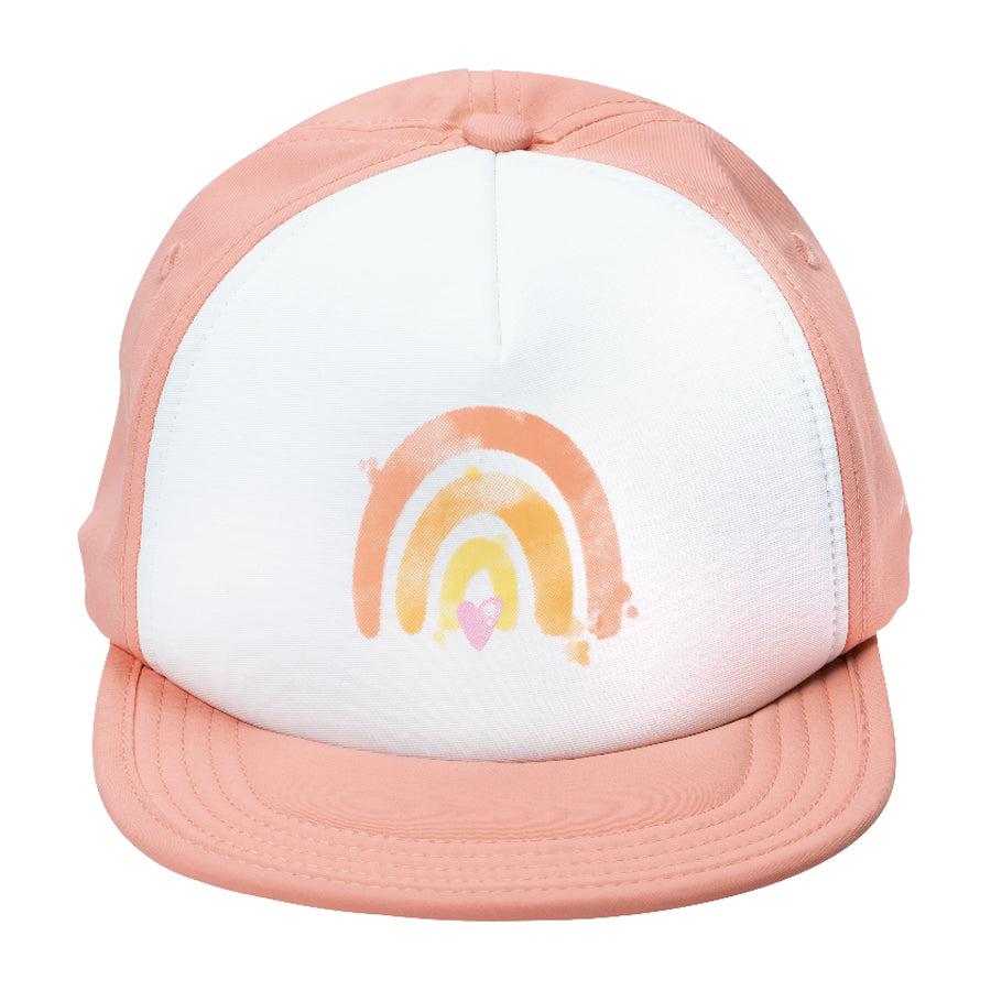 Creamsicle Rainbow - Trucker / Sun Hat-Bitty Brah-Joanna's Cuties