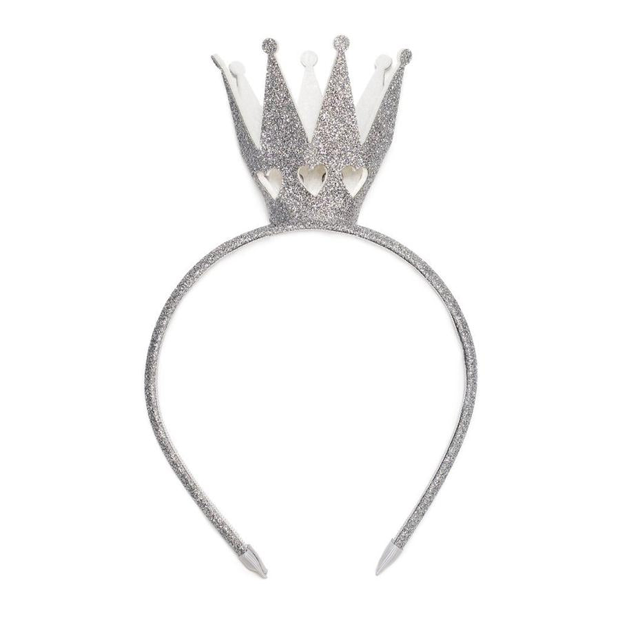Crown Headband Silver, Sweet Wink - Joanna's Cuties