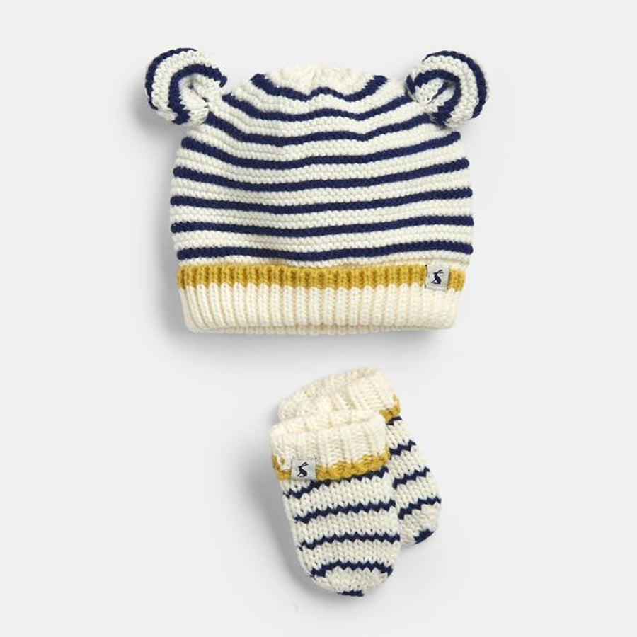 Cute Hat And Mitten Set - Joules - joannas-cuties