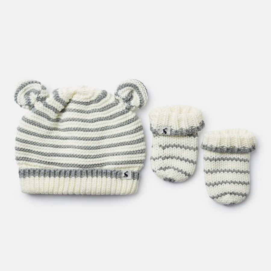 Cute Hat And Mitten Set