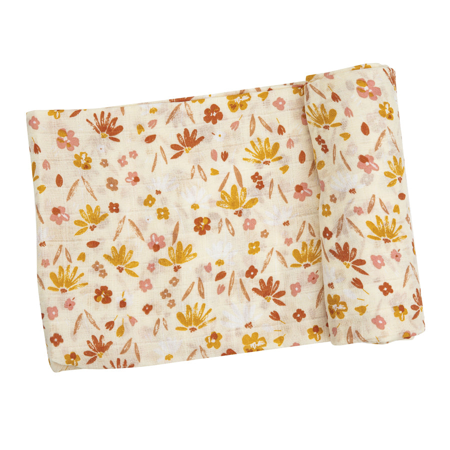 Daisy Baby Swaddle Blanket-Angel Dear-Joanna's Cuties