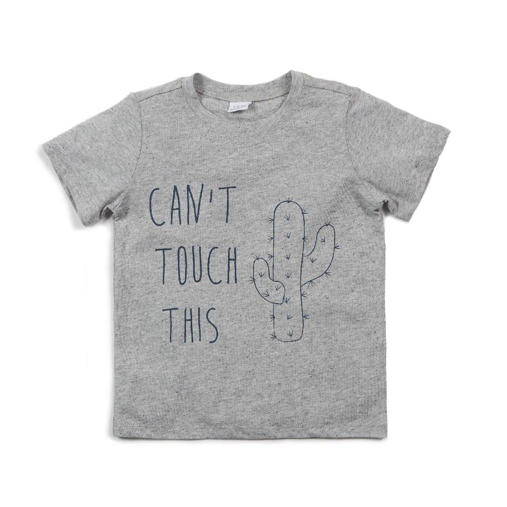 Damian Graphic Tee In Grey - EGG by Susan Lazar - joannas-cuties