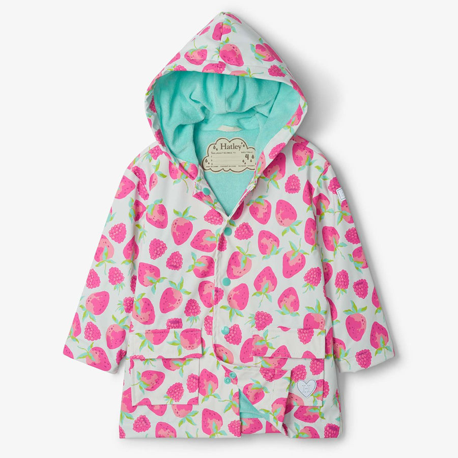 Delicious Berries Raincoat-Hatley-Joanna's Cuties