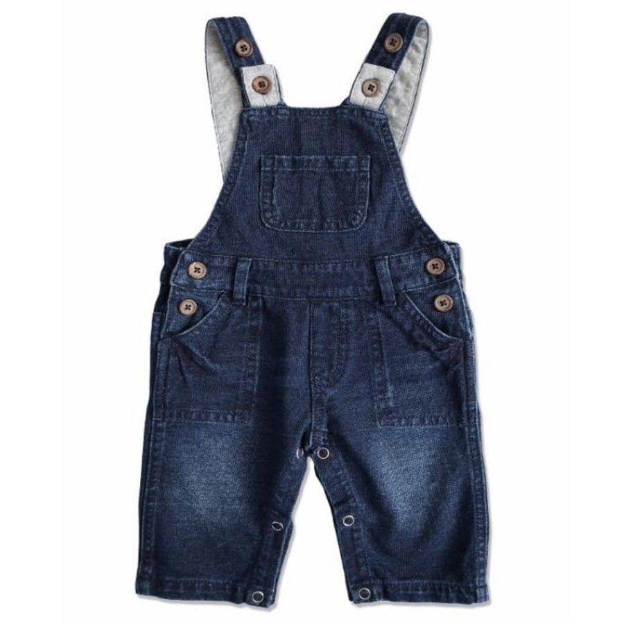 Denim Effect Overalls - Me + Henry - joannas-cuties