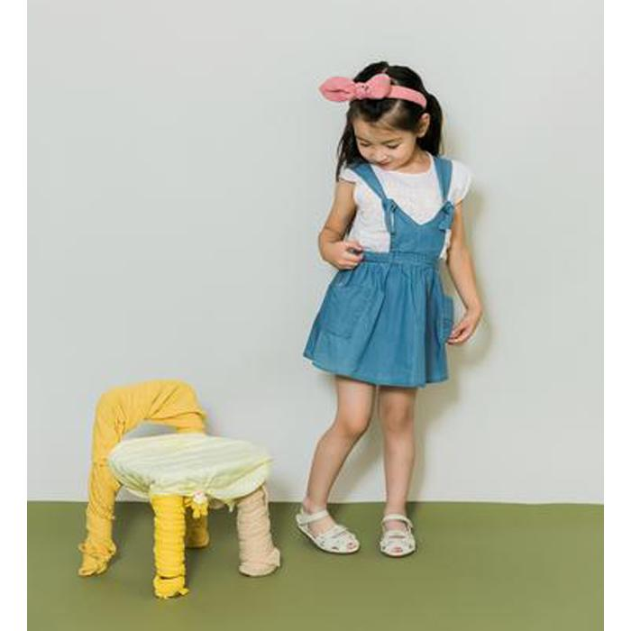 Denim Overall Dress - Aimama - joannas-cuties