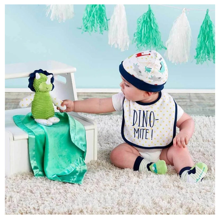 Dinosaur 5-Piece Welcome Home Gift Set-Baby Aspen-Joanna's Cuties