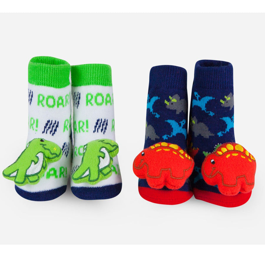 Dinosaur Rattle Socks-Waddle-Joanna's Cuties