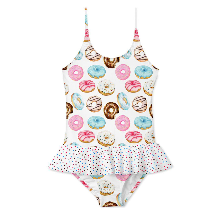 Donut Ruffle Skirt Swimsuit-Stella Cove-Joanna's Cuties
