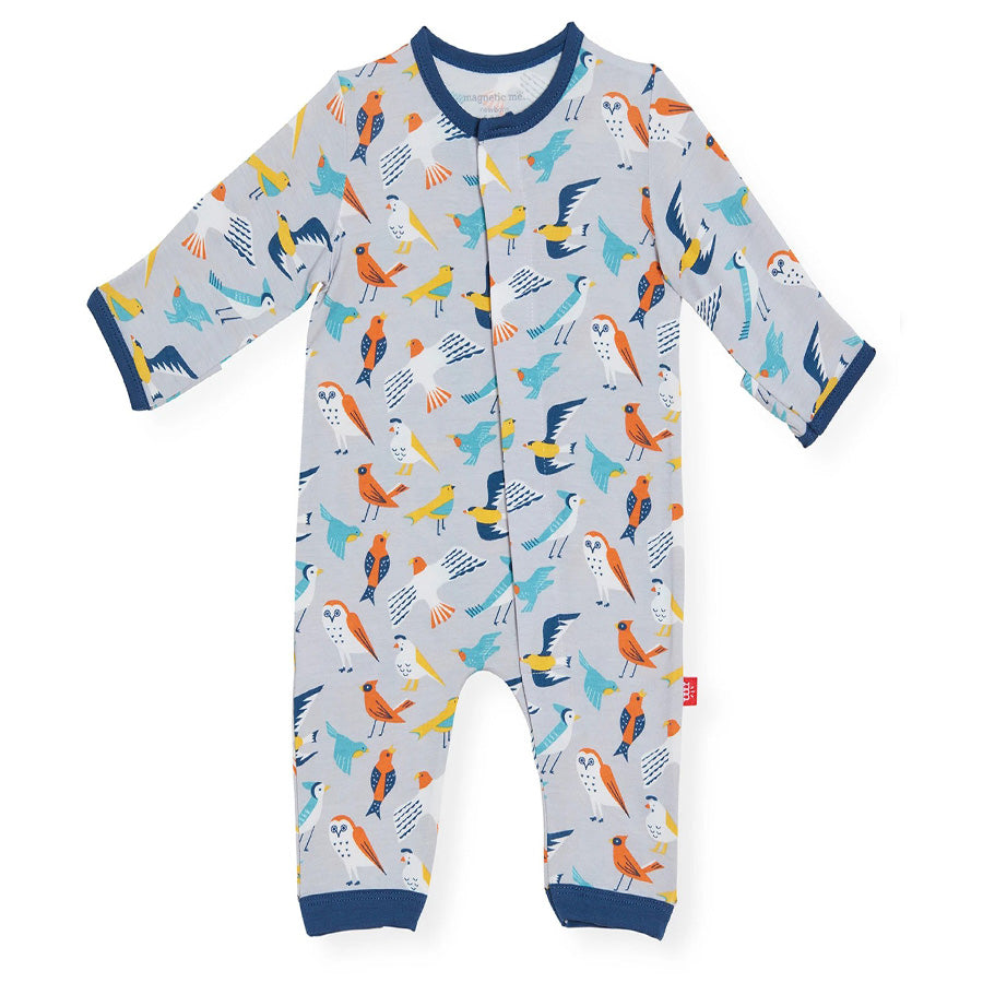 EEarly Bird Modal Magnetic Coverall-Magnetic Me-Joanna's Cuties