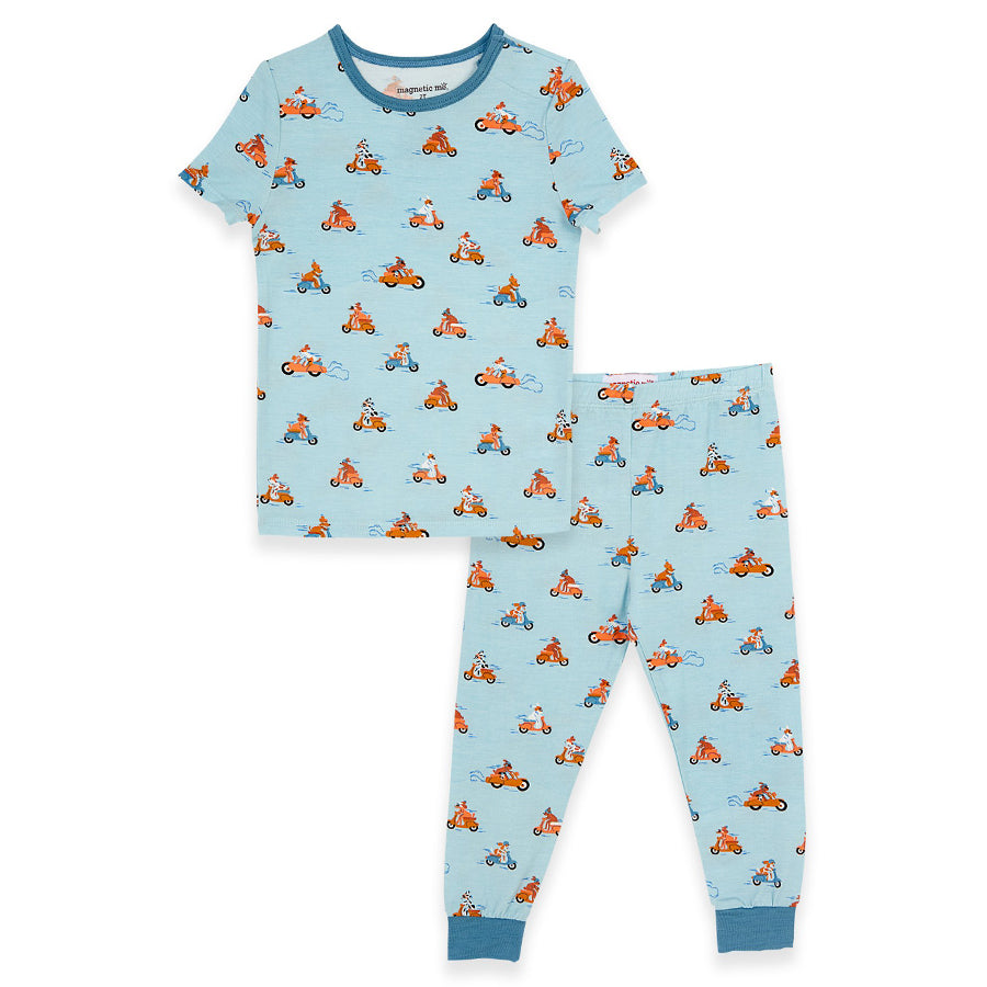 Easy Rider Modal Magnetic Toddler Pajama Set