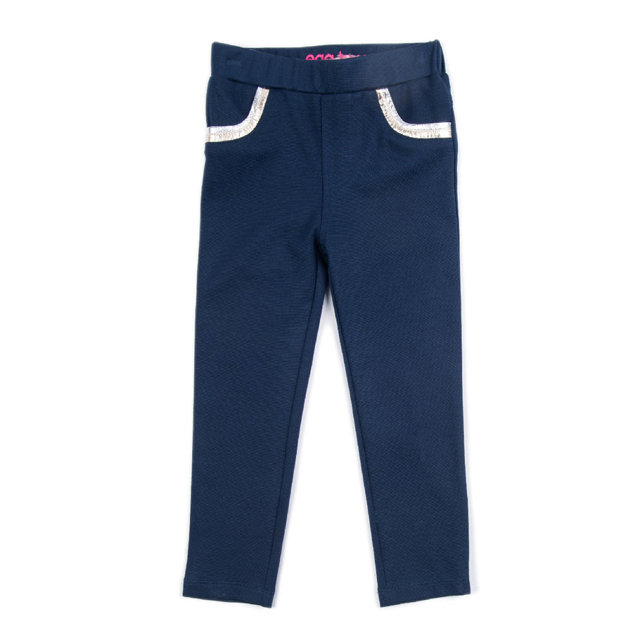 Ponte Pant In Navy - EGG by Susan Lazar - joannas-cuties