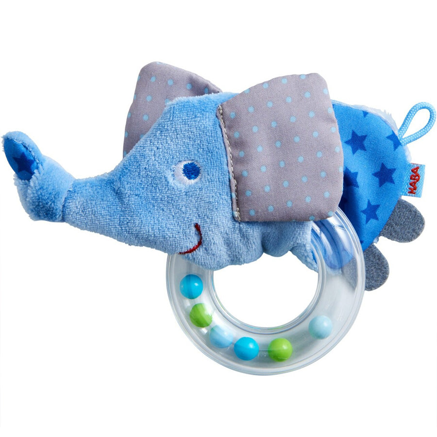 Elephant Rattle Clutching Toy-Haba-Joanna's Cuties