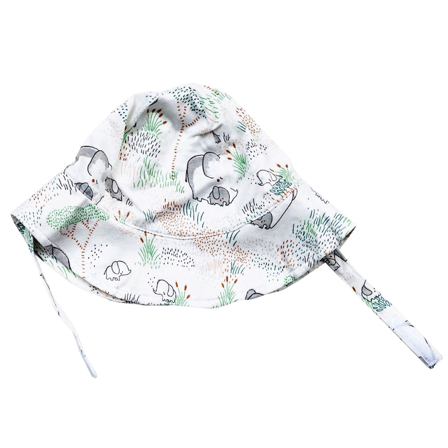Elephants Sun Hat-Angel Dear-Joanna's Cuties