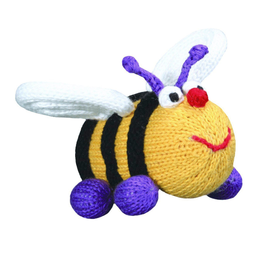 "Elizabeth the Bee rattle - 5"" - Zubels - joannas-cuties"