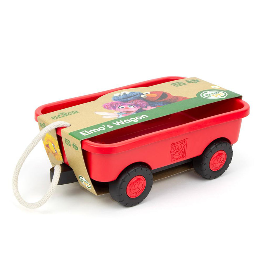 Elmo's Wagon-Green Toys-Joanna's Cuties