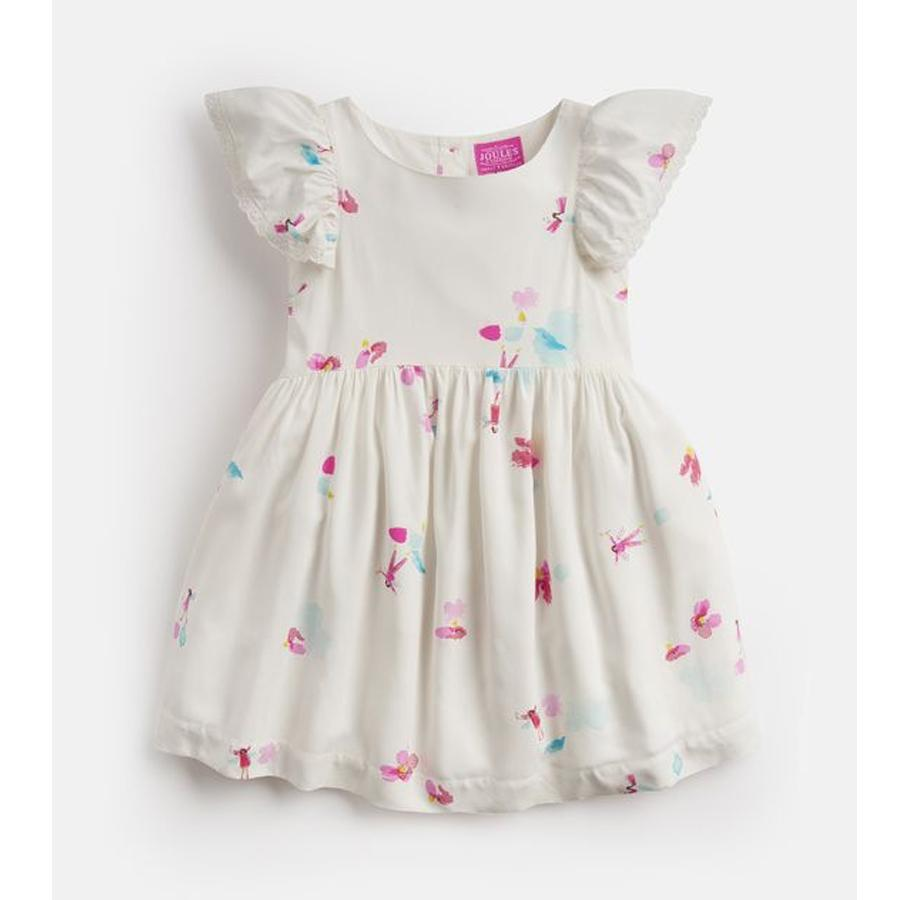 Emeline Woven Printed Dress - Joules - joannas-cuties