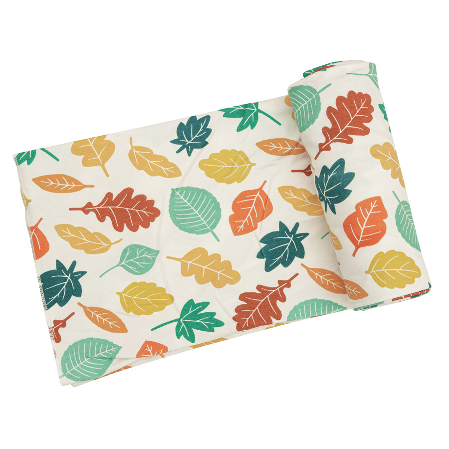 Fall Leaves Swaddle Blanket-Angel Dear-Joanna's Cuties
